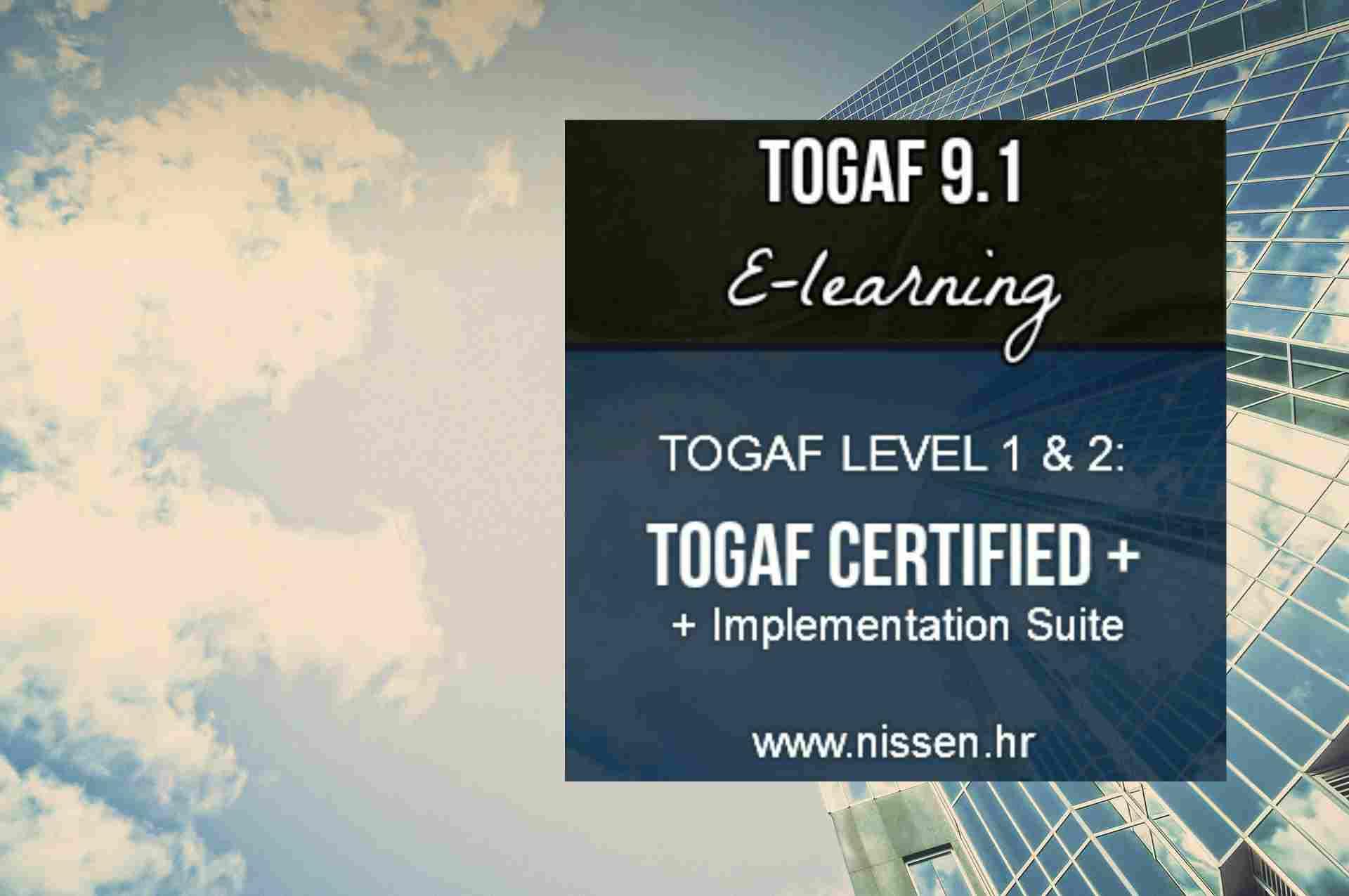 Togaf certification level 1 2 implementation suite nissen itsm togaf certification level 1 2 implementation suite nissen itsm its partner xflitez Gallery