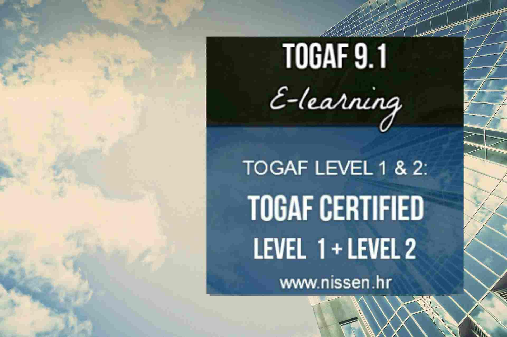 Togaf Certification Level 1 2 Nissen Itsm Its Partner