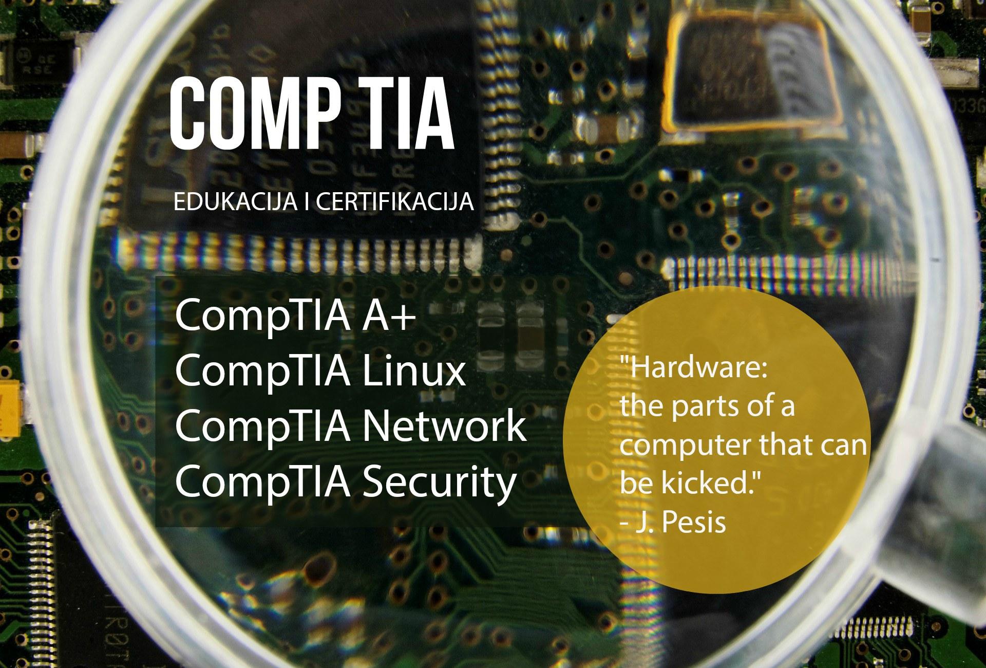 ITS Partner - Edukacija - CompTIA - Edukacija i certifikacija pojedinaca