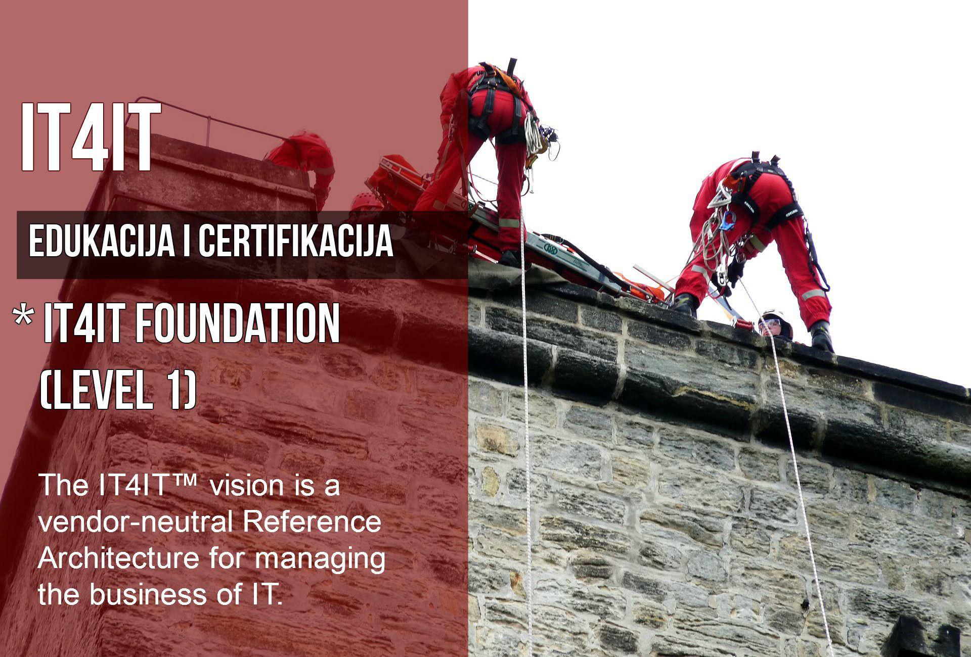 ITS Partner - Edukacija - IT4IT Edukacija i certifikacija