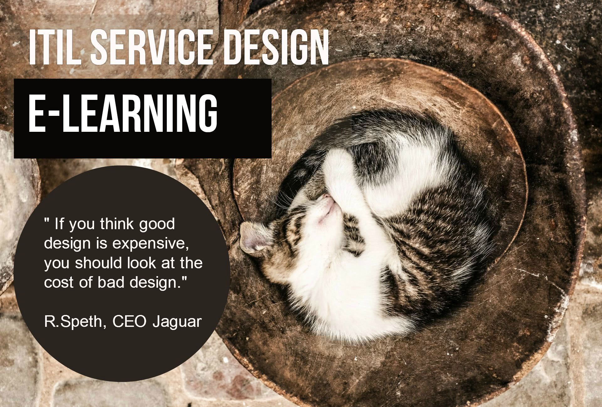 ITS Partner - ITIL Service design e-learning and certification
