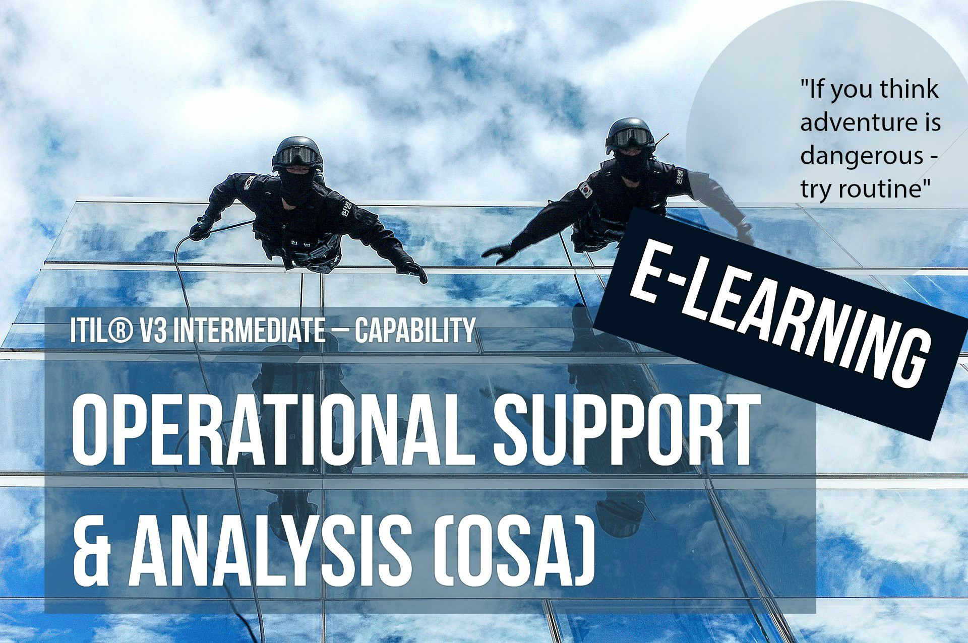 ITS Partner - ITIL Operational Support and Analysis e-learning and certification