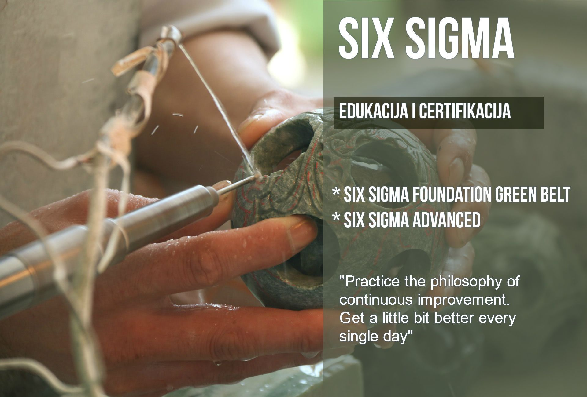 ITS Partner - Edukacija - Six Sigma Edukacija i certifikacija