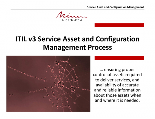 ITIL Configuration Management Process