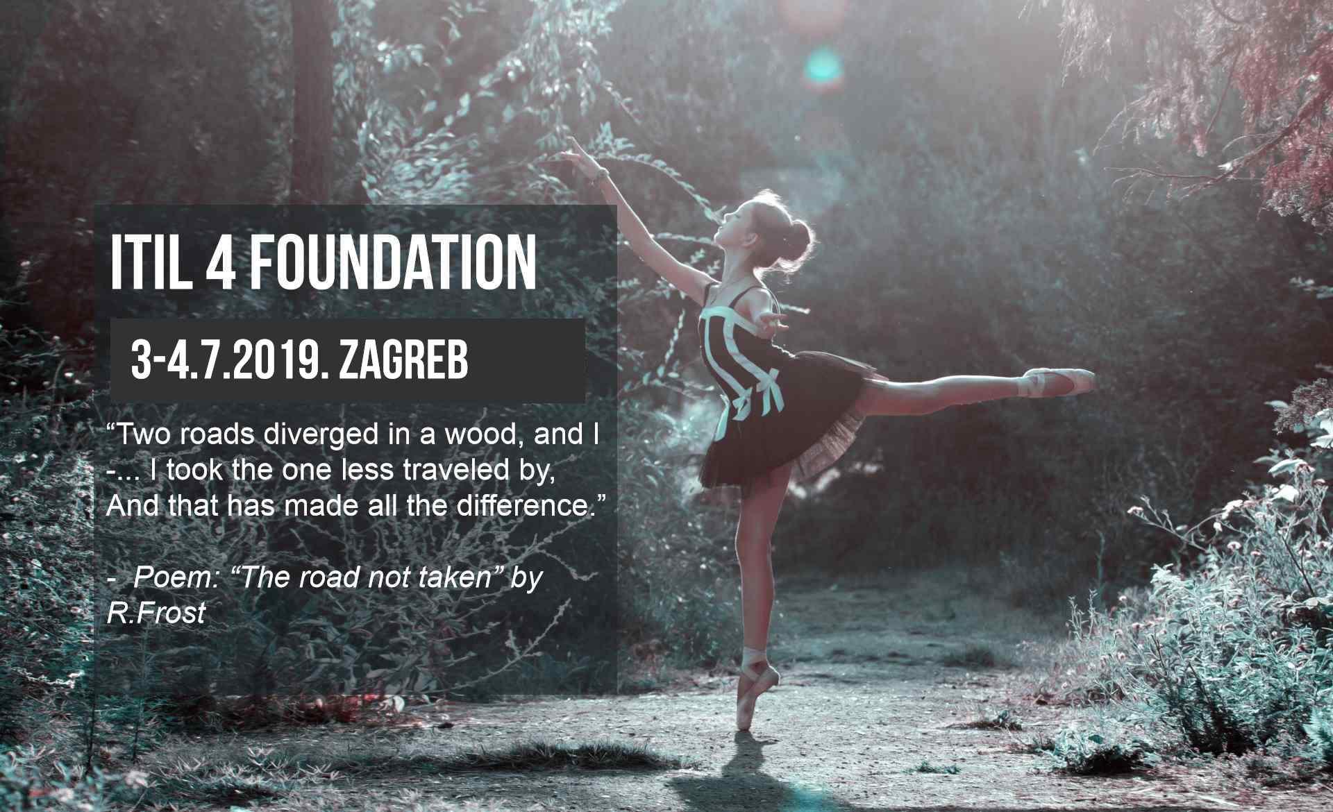 ITIL 4 Foundation seminar i ispit, Zagreb